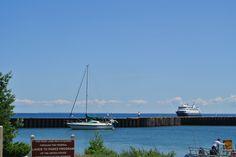 White Fish Bay, Upper Peninsula of Michigan, on Lake Superior
