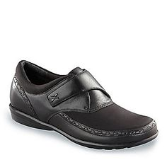 Aetrex Women's Emma Hook-and-Loop Slip-On Shoes :: Women's Shoes :: Casual Shoes :: FootSmart