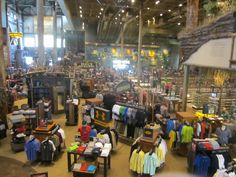Bass Pro Shops Has A Huge Floor filled with great buys!