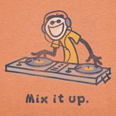 Mix it up.