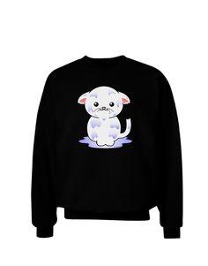 TooLoud Wet Pussycat Adult Dark Sweatshirt