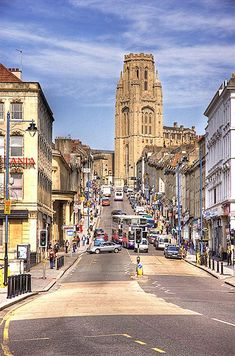 Best for clothes! - Park Street, Bristol Shared by Motorcycle Fairings - Motocc Park Street Bristol, Bristol City Centre, Bristol Cars, Bristol Uk, Great Places, Beautiful Places, Birmingham University, Bristol Beaufighter, Places To Travel