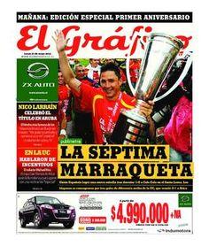 Portada del diario El Gráfico del 27 de mayo de 2013. Lee la edición completa en www.elgraficochile.cl