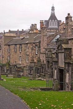 Greyfriars Churchyard, Edinburgh, Scotland