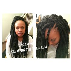 + images about Crochet Braids Hairstyles on Pinterest Twist braid ...