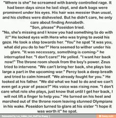 If annabeth had gone missing insted of percy