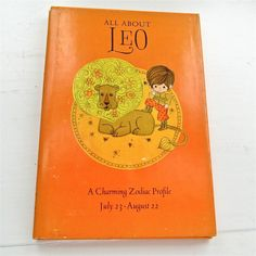 All About Leo A Charming Zodiac Profile by ProsperosBookshelf https://www.etsy.com/listing/292390329