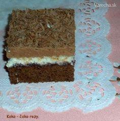 Koko-čoko rezy (fotorecept)