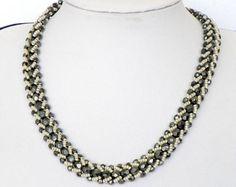 Black Collar Necklace Black choker necklace Black statement