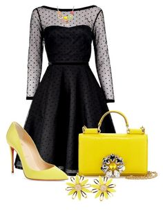 Untitled #2785 by janicemckay on Polyvore featuring polyvore, fashion, style, Marc by Marc Jacobs, Christian Louboutin, Dolce&Gabbana, Kate Spade and clothing