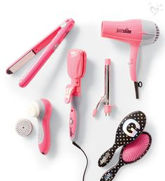 Shine brighter with Conair hair tools for Justice.