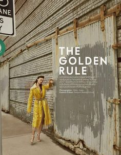 Various Editorials - The Golden Rule - Elle Thailand October 2017