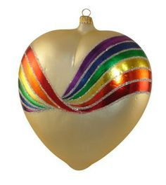 Heart ornament by Larry Fraga