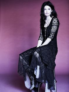 Free People FP X Calamity Jane Dress.  90's goth is back, I love it!