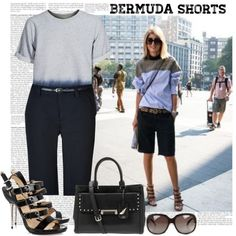 With their longer length, Bermuda shorts can actually look great at the office and, as it happens, are super on-trend right now. If you're wondering how to sty…