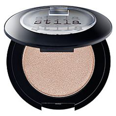 I've been using Stila's Kitten eyeshadow since I was in 8th grade. That's how much I love it. I looks good on any color of eye. Use a large eyeshadow brush to cover the whole lid or a small brush to do the inside corners of your eye and brow bone.