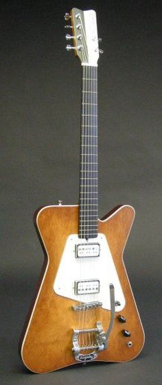 Worland Guitars - Worlatron Sonophonic Electric Hollowbody Guitar