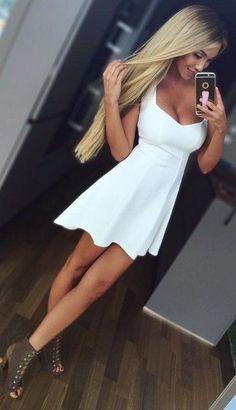 #summer #clothing #trends | Little White Dress