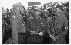 Ernst Röhm und Adolf Hitler in Kelheim.