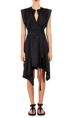 ISABEL MARANT Georgette Lief Wrap Dress. #isabelmarant #cloth #dress