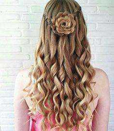 wedding hairstyles easy hairstyles hairstyles for school hairstyles diy hairstyles for round faces p Dance Hairstyles, Homecoming Hairstyles, Hairstyles For School, Pretty Hairstyles, Cute Hairstyles, Braided Hairstyles, Wedding Hairstyles, Hairstyle Ideas, Flower Hairstyles