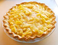 Cream Pie Recipes, Mug Recipes, Cooking Recipes, Just Desserts, Delicious Desserts, Dessert Recipes, Peach Cream Pies, Fruit Pie, Favorite Recipes
