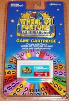Wheel Of Fortune Cartridge Deluxe #1 by Tiger Electronics #TigerElectronics
