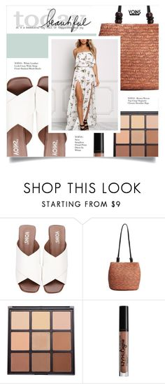"""YOINS"" by larissa-takahassi ❤ liked on Polyvore featuring Morphe, NYX, yoins, yoinscollection and loveyoins"