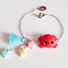 •Handmade polymer clay jewelry @littledipperclay ☀️ #crab #kawai...Instagram photo   Websta (Webstagram)
