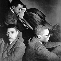 The Ramsey Lewis Trio, c.1965. In front Redd Holt and Ramsey Lewis, with Eldee Young in rear with the bass