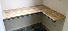 bureau steigerhout