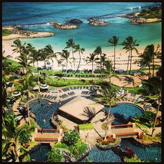 Our favorite stop in Hawaii!  Looking for a place in Oahu to relax and enjoy, without the crowds of Waikiki?  Consider the Ko' Olina side of the island!