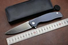 69.00$  Watch more here - http://aifan.worlditems.win/all/product.php?id=32789121873 - KESIWO quality D2 Folding knife IceBreaker Titanium Alloy handle EDC tactical survival camping knife Utility outdoor tool knife