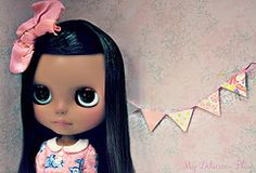 Amelia, Beautiful Brown Blythe Custom #19 by My Delicious Bliss