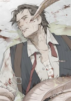 The Evil Within. Fanart, Game Character, Character Design, The Evil Within Game, Sebastian Castellanos, Cry Of Fear, Creepy Games, Arte Obscura, Survival