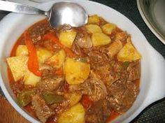 Filipino Beef Caldareta