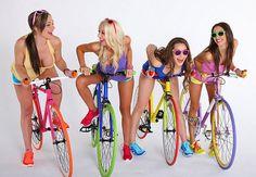 https://www.facebook.com/MakeItBurnNow bike girls