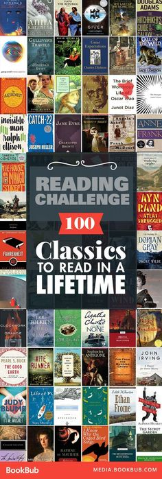 Check out this list of classic books to read in your lifetime, including some of the best timeless literature. If you're looking for reading challenge ideas, this is the list for you!