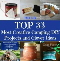 Top 33 Most Creative DIY Camping Projects And Ideas