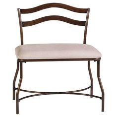 Windsor Vanity Bench - Hillsdale Furniture : Target