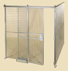 Security Cages stocked in New York City and New Jersey. Steel Cage, New York City Ny, Secret Storage, Cost Saving, Security Door, Wire Mesh, Big Houses, Galvanized Steel, Storage Solutions