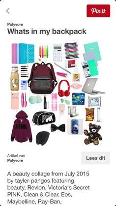 Wat meiden nodig hebben is hun tas