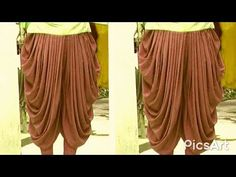 In this video i will teach you how to cutting and stitching a full haavy patiala salwar very easy and simple method. So please watch the full videos.Different types of pant cutting and stitching tutorial - Kurti Blouse Patiala Salwar, Salwar Pants, Salwar Designs, Blouse Designs, Salwar Pattern, Stitching Dresses, Indian Embroidery, Embroidery Online, Online Dress Shopping
