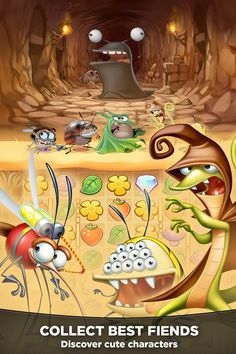 Best Fiends characters
