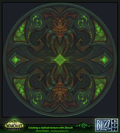 This is a texture that I've done for the Blizzcon 2016 to show my process for creating stylized textures with using Zbrush.  You can download what I've presented with some explanations here for free : https://gumroad.com/fannyvergne