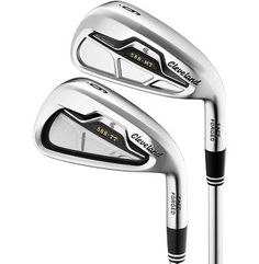 Cleveland 588 MT 4-5, 588 TT 6-PW Combo Iron Set with Steel Shafts