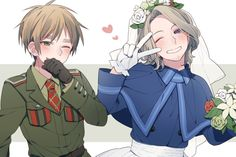 dontmakeagroomsbridejokedontmakeagroomsbridejoke <<<< what a shame the poor grooms bride.fuck yea<<<<< FRANCIS YOU WHORE<< I guess you could say Francis groomed Author enough to become his bride. well fruk I'll leave now. Fruk Hetalia, Hetalia France, Latin Hetalia, Hetalia England, Hetalia Fanart, Hetalia Axis Powers, Spamano, Beautiful Person, Beautiful World