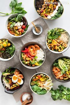 Clean Eating Diet, Clean Eating Recipes, Diet Recipes, Vegetarian Recipes, Healthy Recipes, Bol Buddha, Foods For Abs, Clean Eating For Beginners, Breakfast Bowls