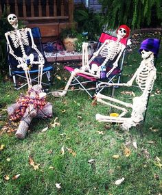 Crazy Skeleton Halloween Decorations