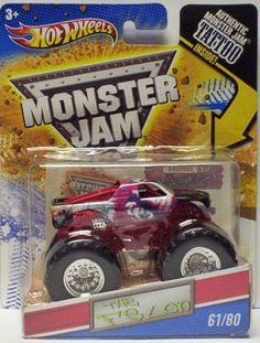 2011 Hot Wheels Monster Jam #61/80 THE FELON 1:64 Scale Collectible Truck with Monster Jam TATTOO by Mattel. $8.45. 1:64 Scale (Small Truck). 2011 Production Year. Includes Authentic Monster Jam Tattoo. Official Monster Jam Truck. Crush the Competition with this 1:64 scale Hot Wheels truck! Die cast body and chassis mega monster tires & 4-wheel turning action. Let the dirt fly with these ground-poundin Hot Wheels Monster Trucks. Rev up for total domination and destruction on ...